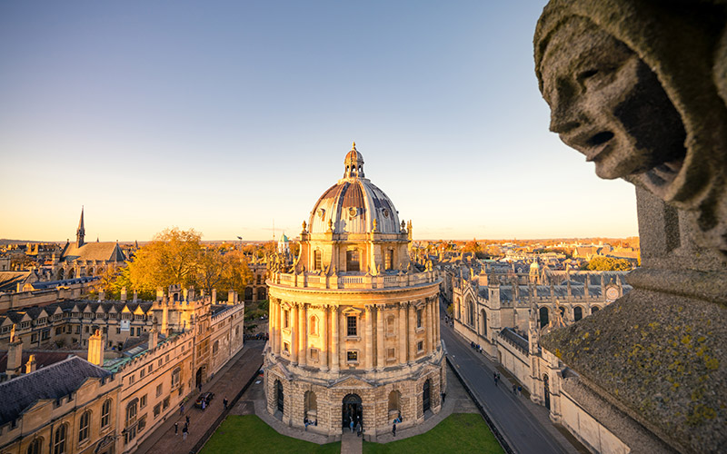 Radcliffe Camera tour
